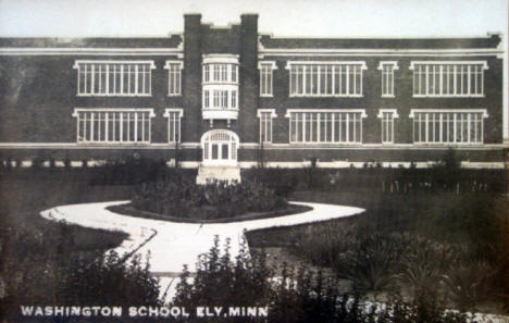 Washington School, Ely Minnesota, 1920's