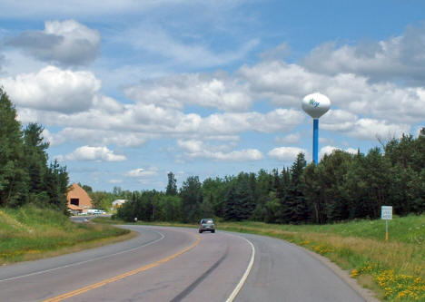 Entering Ely Minnesota from the west, 2005