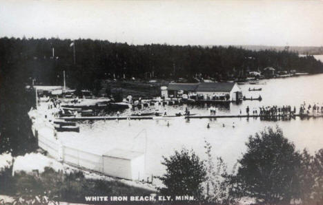 White Iron Beach, Ely Minnesota, 1930's