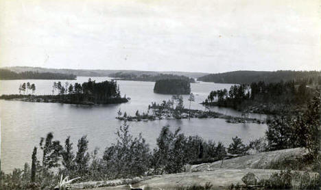 Burntside Lake, Ely Minnesota, 1900
