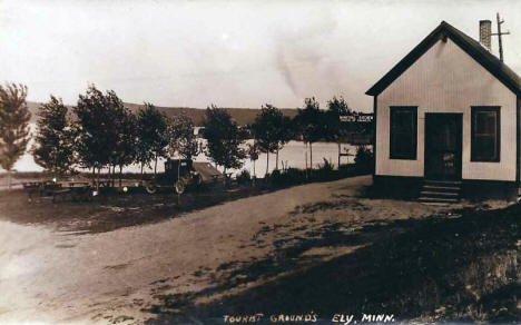Tourist Grounds, Ely Minnesota, 1920?
