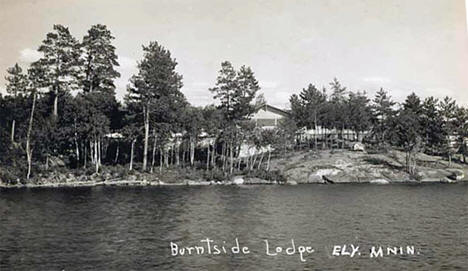 Burntside Lodge near Ely Minnesota, 1915
