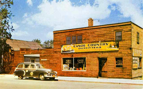 Canoe Country Outfitters, 629 East Sheridan Street, Ely Minnesota, 1958