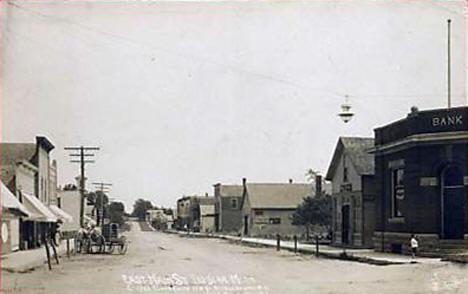 East Main Street, Elysian Minnesota, 1910