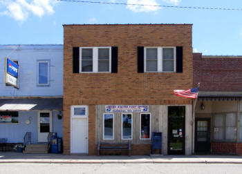 US Post Office, Emmons Minnesota