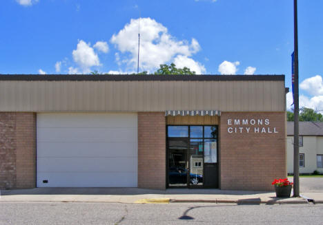 City Hall, Emmons Minnesota, 2010