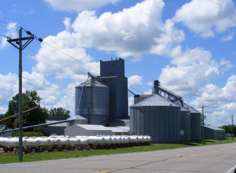 Grain elevators, Emmons Minnesota, 2010