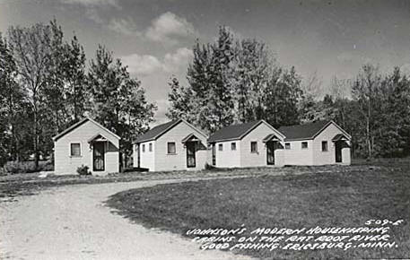 Johnson's Housekeeping Cabins on the Rat Root River, 1950's