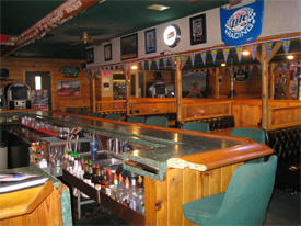 Pit Stop Sports Bar, Evansville Minnesota