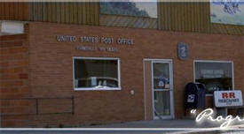 US Post Office, Evansville Minnesota
