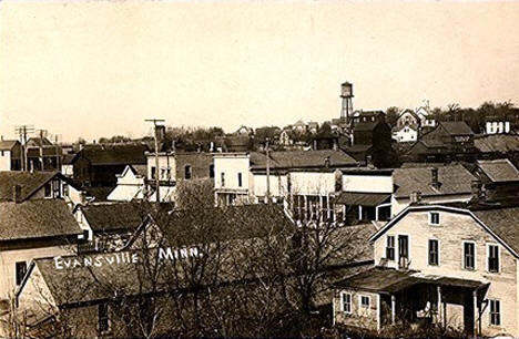 General view, Evansville Minnesota, 1910