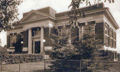 Public Library, Eveleth Minnesota, 1920's