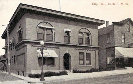 City Hall,  Eveleth Minnesota, 1907