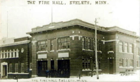 Fire Hall, Eveleth Minnesota, 1909