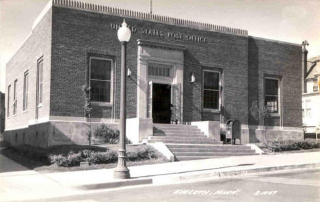 Post Office, Eveleth Minnesota, 1948