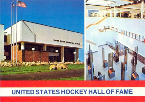 US Hockey Hall of Fame, Eveleth Minnesota, 1980's