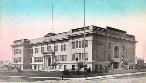 New High School, Eveleth Minnesota, 1915