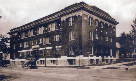 Essling Apartments, Eveleth Minnesota, 1920's