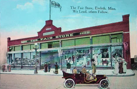 The Fair Store, Eveleth Minnesota, 1920's