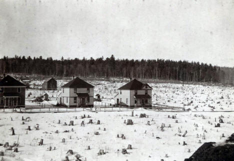 View of Eveleth Minnesota, 1900