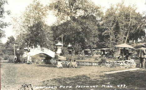 Interlaken Park, Fairmont Minnesota, 1920's