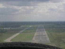 Aerial photo of Falls International Airport