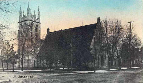 Cathedral of our Merciful Savior in Faribault Minnesota, 1910