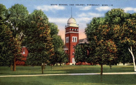 State School and Colony, Faribault Minnesota, 1940's