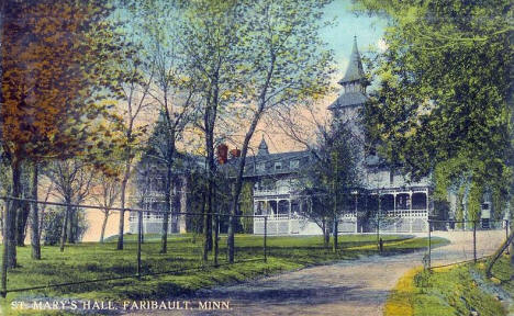 St. Mary's Hall, Faribault Minnesota, 1913