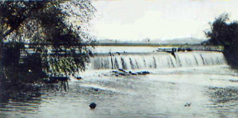 Cannon River Mill Dam, Faribault Minnesota, 1902