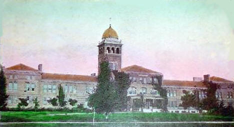 Skinner Hall, State School for Feeble-Minded, Faribault Minnesota, 1910