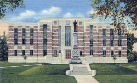 Rice County Courthouse, Faribault Minnesota, 1940