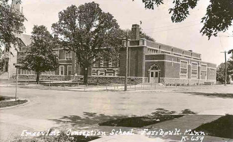 Immaculate Conception School, Faribault Minnesota, 1928