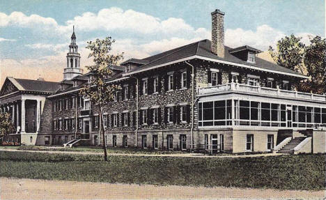 Tate Hall, State School for the Deaf, Faribault Minnesota, 1922