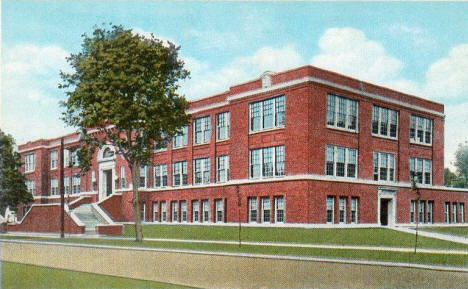 High School, Faribault Minnesota, 1930's?
