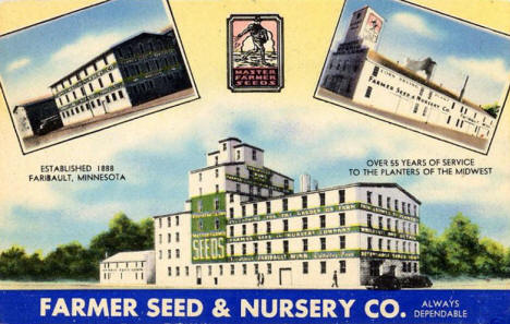 Farmer Seed & Nursery Co., Faribault Minnesota, 1940's