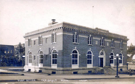 Post Office, Faribault Minnesota, 1919