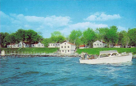 Herman's Resort on Leech Lake, Federal Dam Minnesota, 1960's