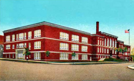 High School, Fergus Falls Minnesota, 1920's