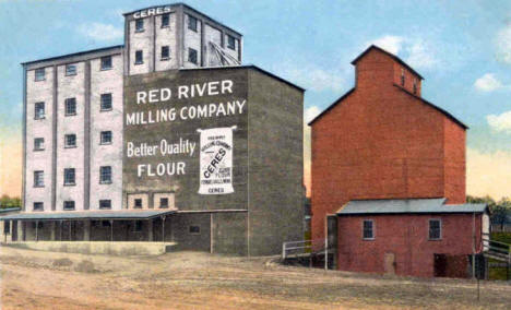 Red River Milling Company, Fergus Falls Minnesota, 1930's