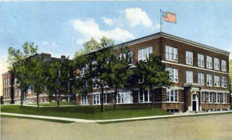 High School, Fergus Falls Minnesota, 1915