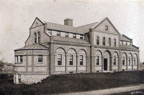 Wright's Memorial Hospital, Fergus Falls Minnesota, 1909