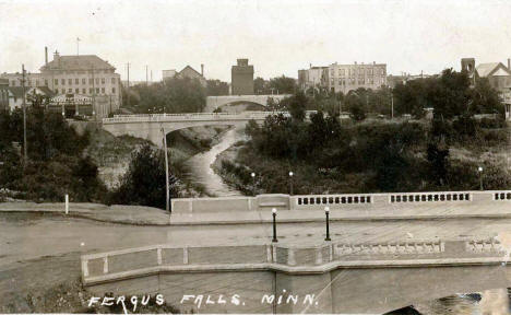 General view, Fergus Falls Minnesota, 1923