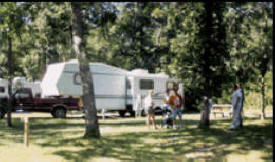 Fifty Lakes Campground, Fifty Lakes Minnesota