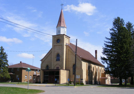 Sacred Heart Catholic Church, Flensburg Minnesota, 2009