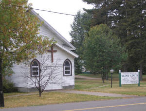 St Louis Catholic Church, Floodwood MN