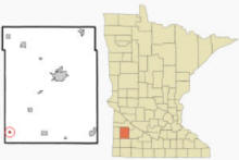 Location of Florence, Minnesota