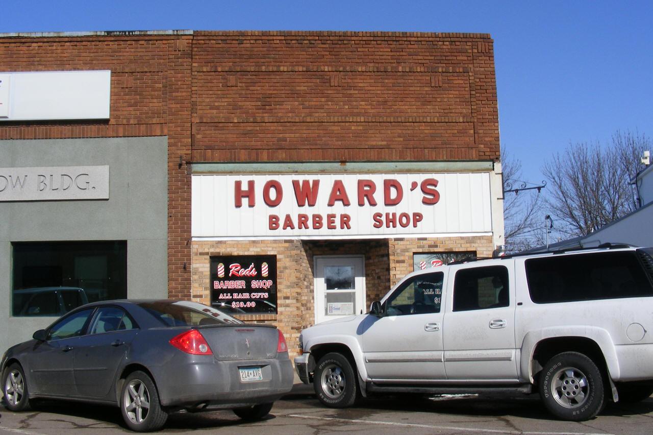 Barber Shop Minneapolis : Howards Barber Shop, Foley Minnesota