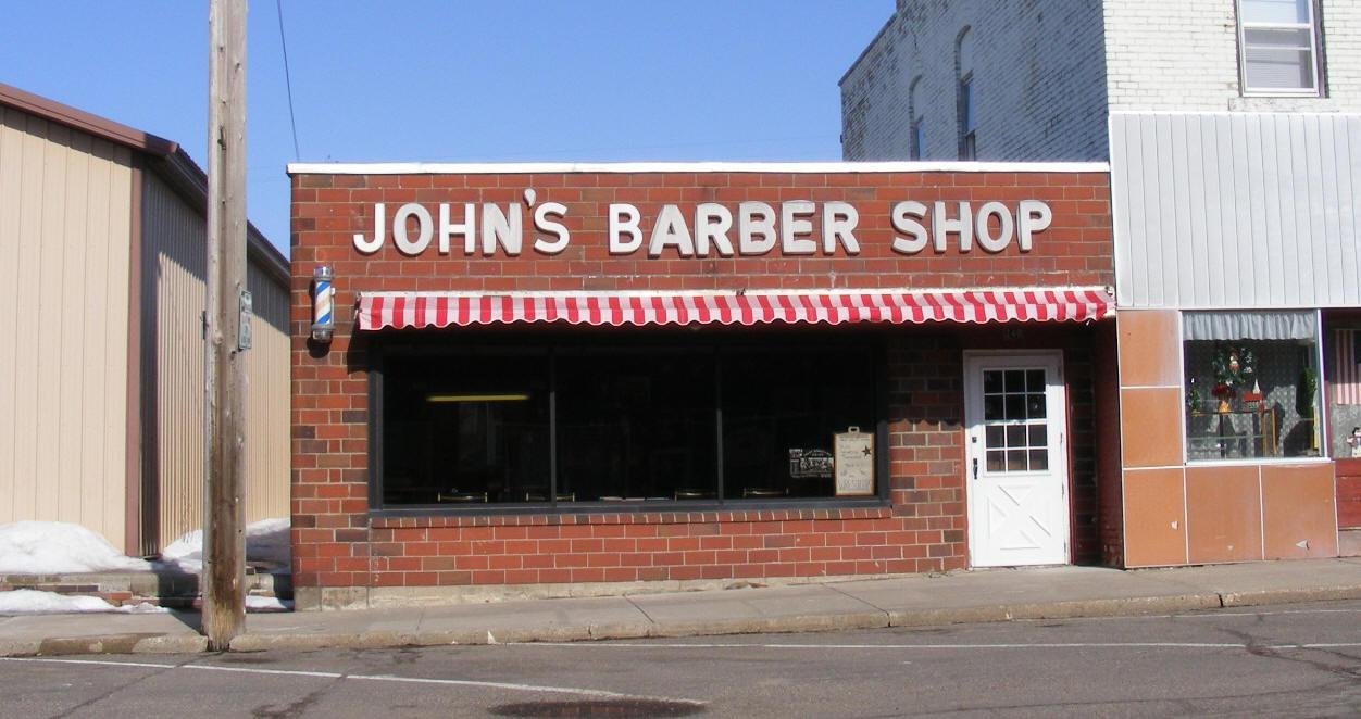 Barber Shop Minneapolis : Johns Barber Shop, Foley Minnesota