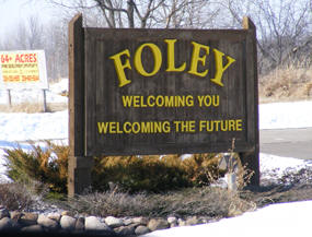 Welcome to Foley Minnesota